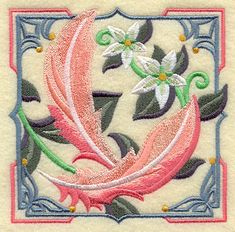 Machine Embroidery Designs at Embroidery Library! - Color Change - H4061