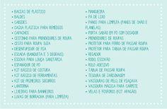 Lista de chá de cozinha / chá de panela | Comprando Meu Apê