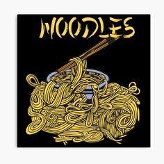 My Canvas, Canvas Prints, Art Prints, Noodles, Vibrant Colors, Oriental, Wraps, My Arts, Chinese