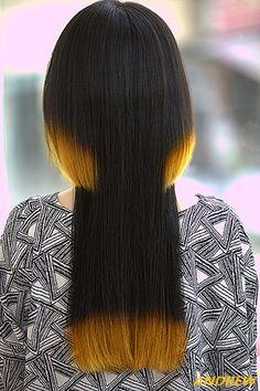Disconnected Haircut, Extreme Hair, Hair Designs, Hair Inspo, Hair Cuts, Personal Care, Long Hair Styles, Beauty, Hair