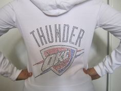 Oklahoma City Thunder Rhinestone/Bling Hoodie by TeamBlingMe, $25.00