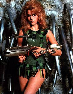 "Jane Fonda as Barbarella 1968  ""Steampunk before it was cool"""
