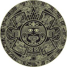aztec art   Aztec Calendar
