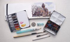 Gurney Journey: Watercolor in the Wild Materials