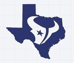 Items similar to Houston Texans Decal on Etsy Houstan Texans, Texans Logo, Houston Texans Football, Nfl Logo, Stencil Art, Stencils, Pretty Cross Tattoo, Silhouette Curio Projects, Houston Skyline