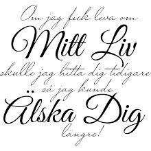 Om jag fick leva om mitt liv Beautiful Mind, Beautiful Words, Great Quotes, Love Quotes, Sad Love, Some Words, Hand Lettering, Quotations, Poems