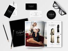 Opracowanie graficzne materiałów brandingowych | Endorfinella  #skład #projektowanie #branding