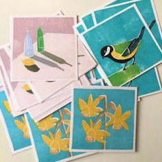 luiza holub handmade cards etsy Free Prints, Wall Art Prints, Bath Art, Daffodil Flower, Teacher Christmas Gifts, Etsy Uk, Bottle Art, Daffodils, Digital Prints