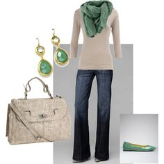 Love the mint green:) St. Patty's day here I come outfit!