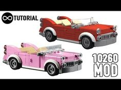 How to build a LEGO Vintage car. #LEGO #Vintage #classic #Car #10260 #DowntownDiner #Creator