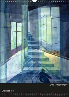 Raumirritationen - CALVENDO Kalender von Gertrud Scheffler - http://www.calvendo.de/galerie/raumirritationen/? - #malerei #art #fantasie #Kalender
