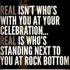 .#celebration, #rock-bottom