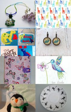 All creatures great and small by Debbi Wood on Etsy--Pinned with TreasuryPin.com