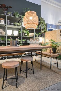 "IKEA ""Sinnerlig"" collection by Ilse Crawford coming August 2015 features cork and bamboo Best Interior, Home Interior, Modern Interior Design, Interior And Exterior, Sinnerlig Ikea, Dining Area, Kitchen Dining, My New Room, Interior Inspiration"