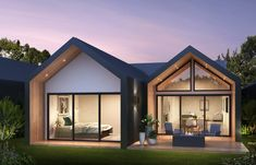 Green Homes Australia - Your Trusted Green Home Builder Minimal House Design, Passive Design, House Extension Design, Energy Efficient Homes, House Extensions, Home Builders, Planer, Building A House, Outdoor Living