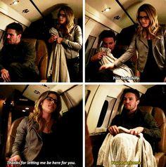 Arrow - Oliver & Felicity #3x20 #Season3 #Olicity