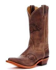 Women's Arkansas Branded Boot, Brown