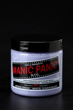 #UrbanOutfitters          #Women #Beauty            #semi-permanent #dyes #snooky #manic #results #panic #dawn #variety #heads #crazy #dye #live #hair #fast #bright #cream #deep #original #classic            Manic Panic Classic Cream Hair Dye                  Overview:* Live fast and dye your hair!* Tish and Snooky's Manic Panic hair dye has been the turning heads since the dawn of punk* Get deep, bright crazy results from semi-permanent dyes in a variety of colors* Original cream formula…