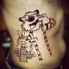 Discover an ingenious philosophical legacy with the top 70 best Calvin And Hobbes tattoo designs for men. Explore cool artistry and quirky humor ink ideas. Calvin And Hobbes Tattoo, Calvin Und Hobbes, Calvin And Hobbes Quotes, Funny Tattoos, Love Tattoos, Body Art Tattoos, New Tattoos, Tattoos For Guys, Tatoos