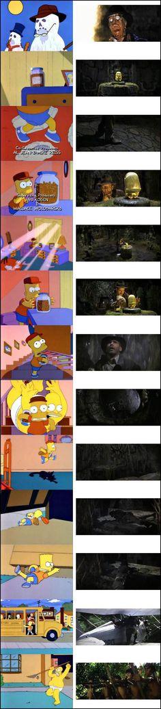 The Simpsons - Indiana Jones