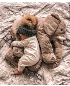 This elephant pillow is made from only the highest quality plush materials. The we . Die we… This elephant pillow is made of only the highest quality … - So Cute Baby, Cute Baby Clothes, Little Babies, Baby Kids, Cute Children, Mom And Baby, Baby Baby, Baby Boy Toys, Boy Or Girl Baby