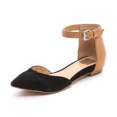 Dolce Vita Gav d'Orsay Flats - Step out in a pair of flats as dressy as your favorite heels