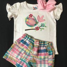 Baby Girls Shortset