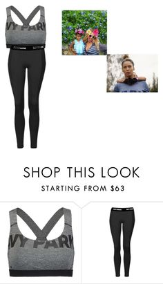 """beyonce work out day"" by royalty-fashion-love-gymnastics ❤ liked on Polyvore featuring Ivy Park and Topshop"
