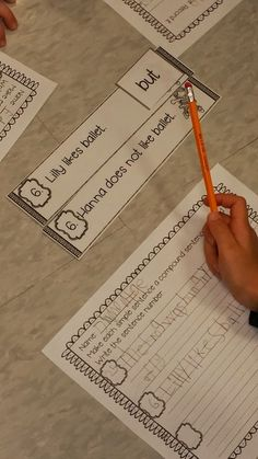 Blog post - Activity for taking two simple sentences and creating a compound sentence.