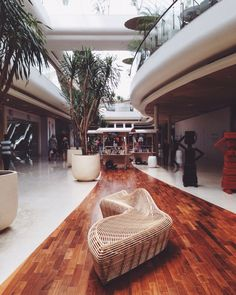 Linger bench by alvinT in Seminyak Village shopping mall, Bali