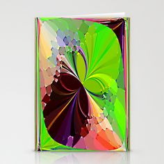 Re-Created ButterfliesIX Stationery Cards by Robert S. Lee - $12.00