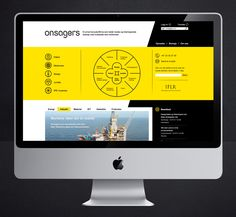 Onsagers website designed by Uniform. #Branding #Design #Website