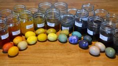 How To Dye Easter Eggs Naturally - Here's how to use herbs and common food to dye Easter eggs naturally!
