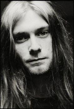 young Kurt Cobain