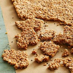 Coconut Chia Oat Squares sounds like a yummy breakfast or snack Breakfast And Brunch, Heart Healthy Breakfast, Healthy Breakfast Recipes, Nutritious Breakfast, Healthy Recipes, Breakfast Dishes, Breakfast Items, Clean Recipes, Yummy Recipes