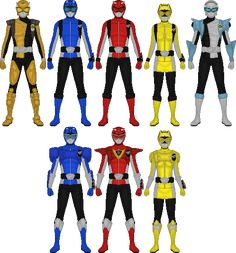 Tokumei Sentai Go-Busters by Cartoon Network, New Power Rangers, Power Rengers, Go Busters, Deviant Art, Kaito, Beast, Disney Characters, Fictional Characters