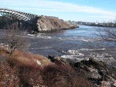 Reversing Falls, St. John New Brunswick, Canada