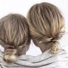 Hair: Bohemian Buns