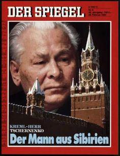 """""""Kremlin Master: Man of Siberia"""" in the german magazine """"Der Spiegel""""."""