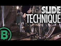 Slide Technique - Beginner Drum Lessons - YouTube