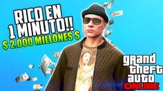 GTA 5 ONLINE - Como ganar Dinero y Rp infinito sin truco - Gameplay Espa...