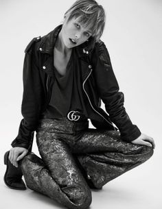 Edie Campbell by Inez and Vinoodh for Vogue Paris February 2016