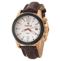 Timberland, Fastpack, Men's Watch, Stainless Steel Rose Gold Plated Case, Leather Strap, Quartz (Battery-Powered), QT7712301' Exclusive Price Only Available At GulshirD.wakeUpnow.com