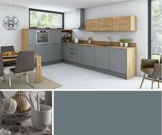 Innova Kuechen ausstellungsküche grau matt bei innova mitte k47 küche küche moderne küche und
