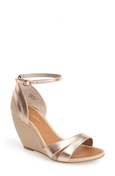 Free shipping and returns on Seychelles 'Like You Mean It' Ankle Strap Sandal (Women) at Nordstrom.com. A sleek leather finish furthers the vintage sophistication of an ankle-strap wedge sandal.