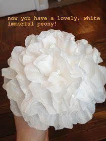 Coffee Filter Roses, Coffee Filter Wreath, Coffee Filters, Coffee Filter Projects, Coffee Filter Crafts, Faux Flowers, Diy Flowers, Fabric Flowers, Tissue Paper Flowers