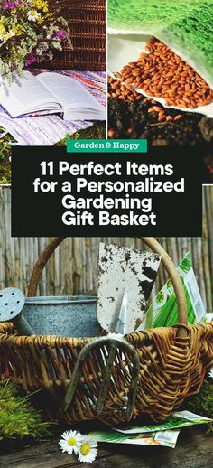 11 Perfect Items for a Personalized Gardening Gift Basket - Garden and Happy