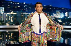 Jimmy Kimmel Live Genuine Suit of the Loom to benefit MaxLove Project LOA