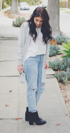 How to style vintage jeans