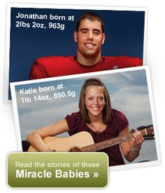 Miracle Babies- premie stories. Also a great site about everything NICU